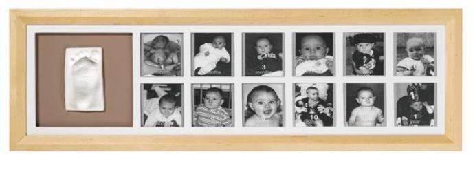Baby Art Rámeček 1st Year Print Frame Natural