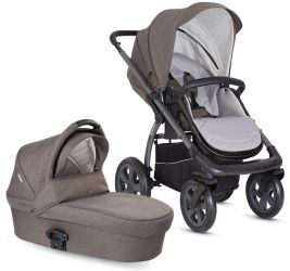 Kočárky X-lander X-Move + korba X-Pram Light 2019 evening grey