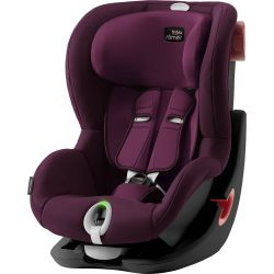 Autosedačka Britax Römer King II LS Black Burgundy Red