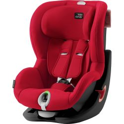 Autosedačka Britax Römer King II LS Black Fire Red