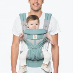 Ergobaby Nosítko OMNI 360 COOL AIR MESH ICY MINT