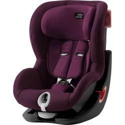 Autosedačka Britax Romer King II Black Burgundy Red