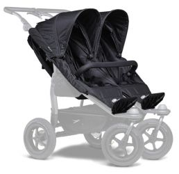 TFK stroller seats Duo black