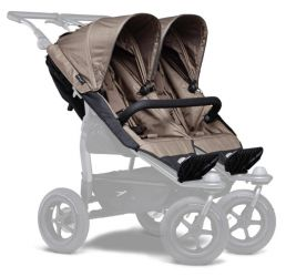 TFK stroller seats Duo brown