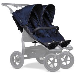 TFK stroller seats Duo navy