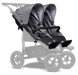 TFK stroller seats Duo prem. grey